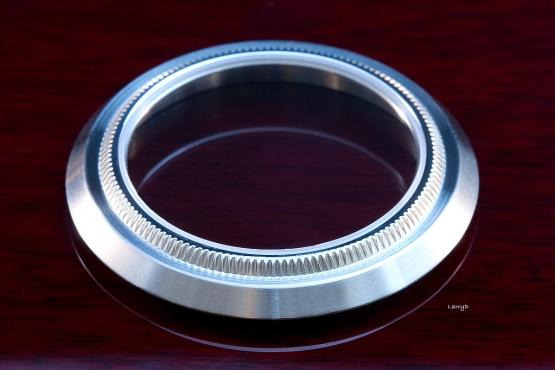 Sapphire Caseback compatible to Rolex Oysterquartz 17000, 17000B, 17013, 17013B, 17014